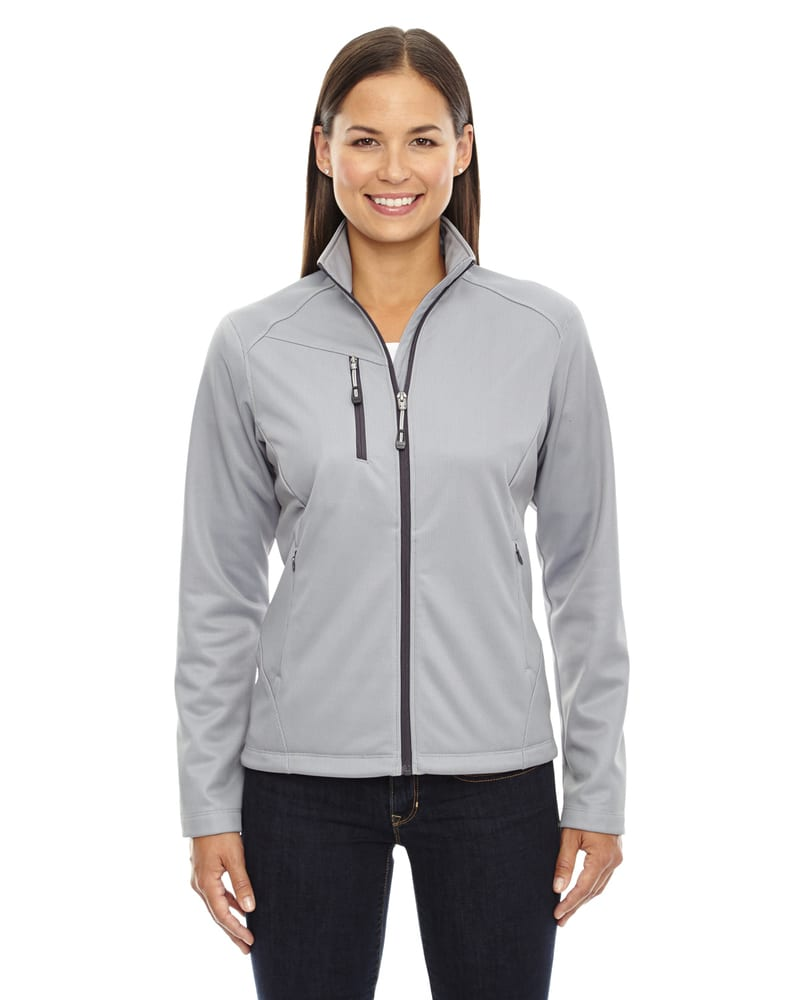 Ash City North End 78213 - Trace Ladies' Printed Fleece Jackets