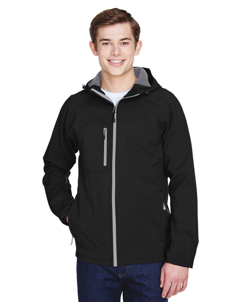 Ash City North End 88166 - ProspectMen's Soft Shell Jacket With Hood