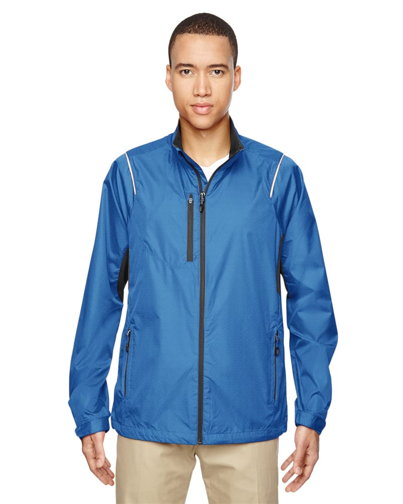 Ash City North End 88200 - Sustain Men's Lightweight Recycled Polyester Dobby Jacket With Print
