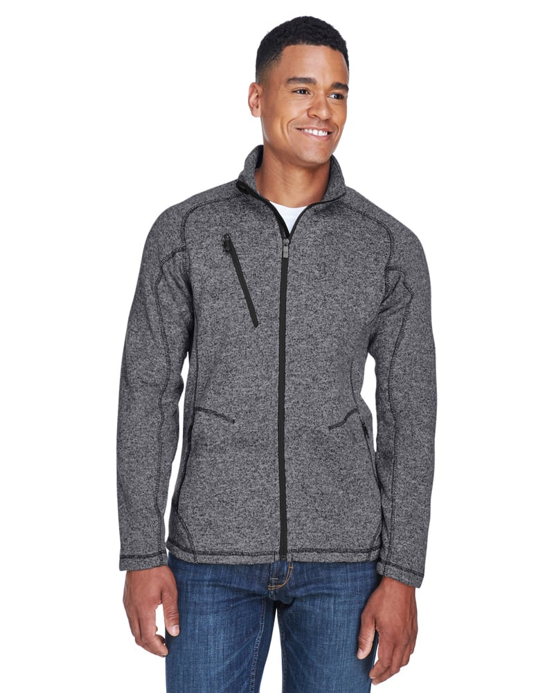 Ash City North End 88669 - Peak Men's Sweater Fleece Jacket