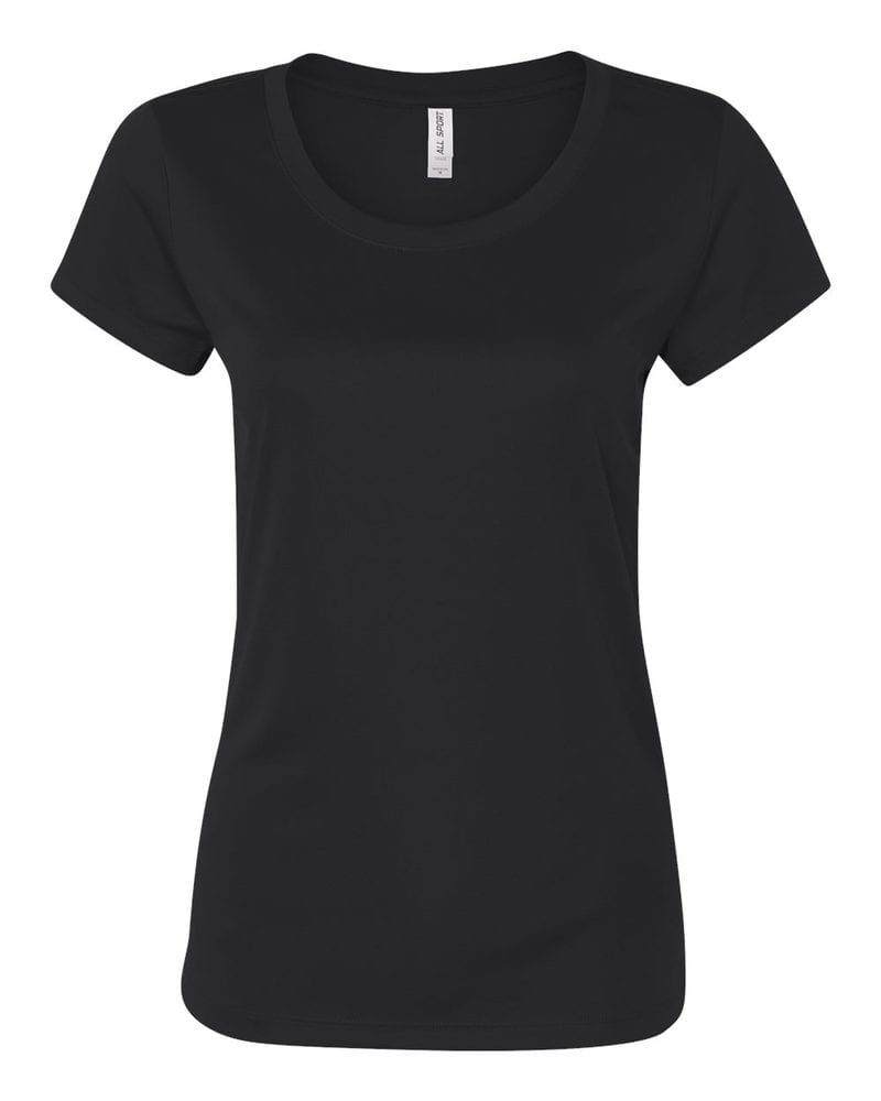 All Sport W1009 - Ladies' Polyester T-Shirt