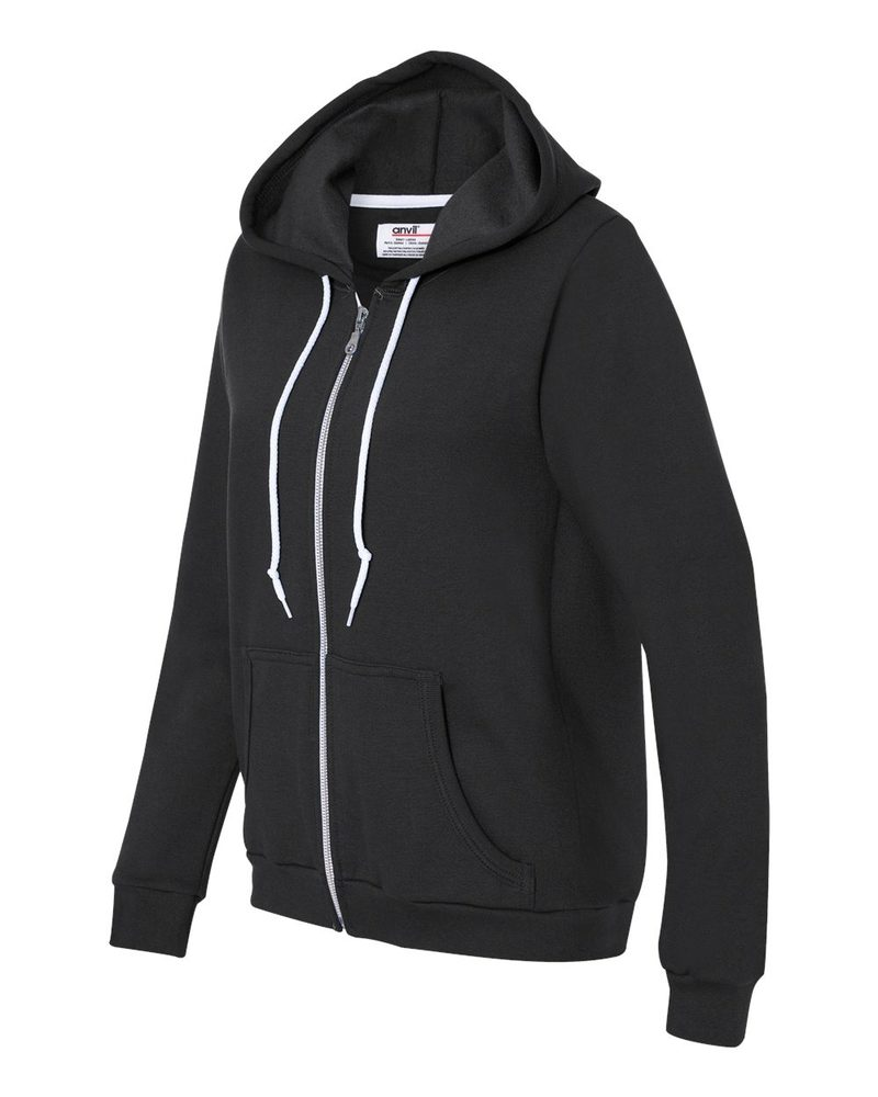 Anvil 71600FL - Ladies' Full-Zip Hooded Sweatshirt