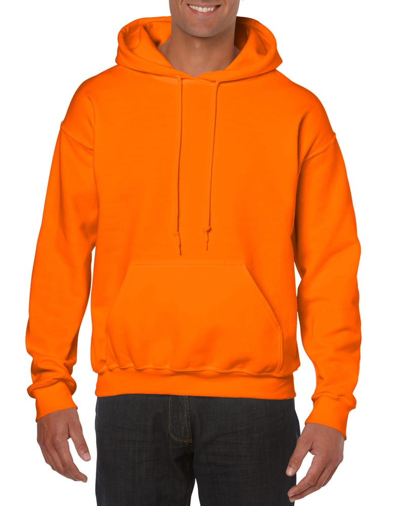 Orange//Vintage Grey Ouray Sportswear Adult Womens Hooded Low Key Pullover Small