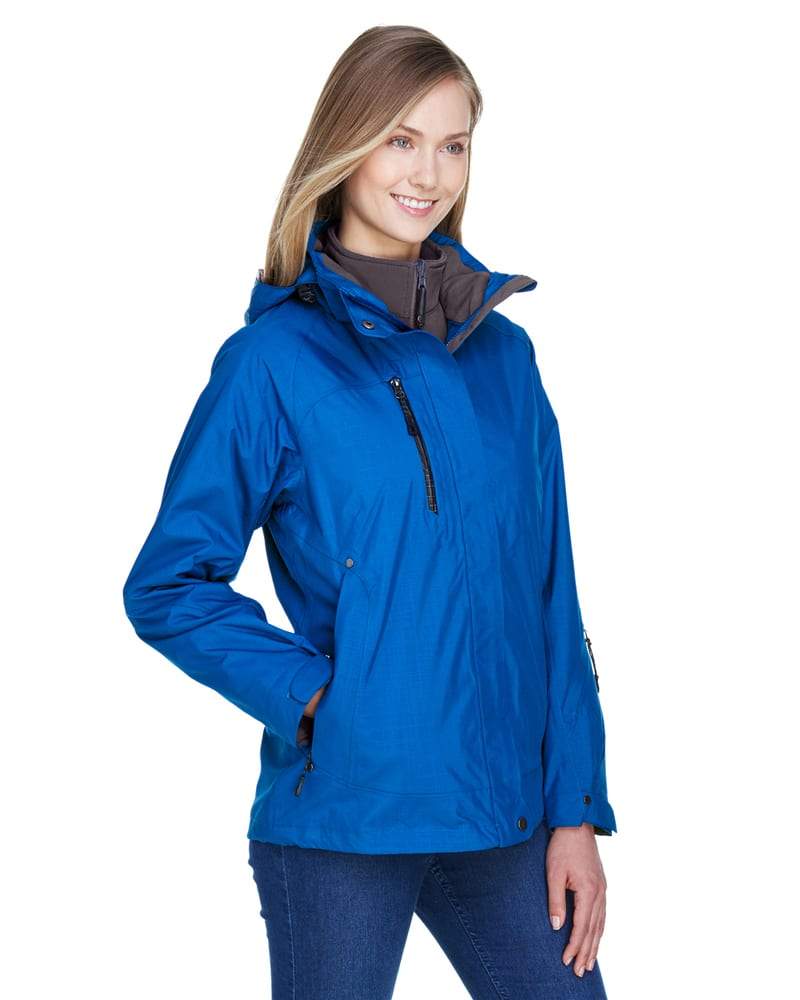 Ash City North End 78178 - Caprice Ladies' 3-In-1 Jacket With Soft Shell Liner