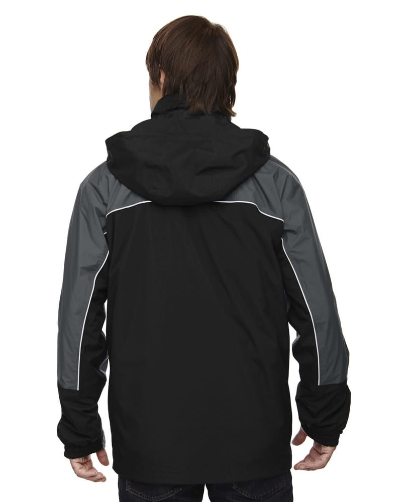 Ash City North End 88052 - Men's Techno Performancetm 3-In-1 Seam Sealed Mid-Length Jacket