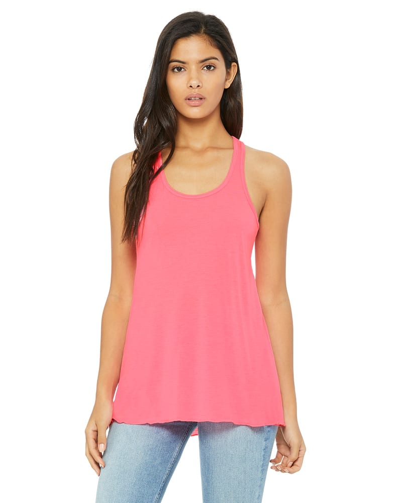 BELLA+CANVAS B8800 - Women's Flowy Racerback Tank