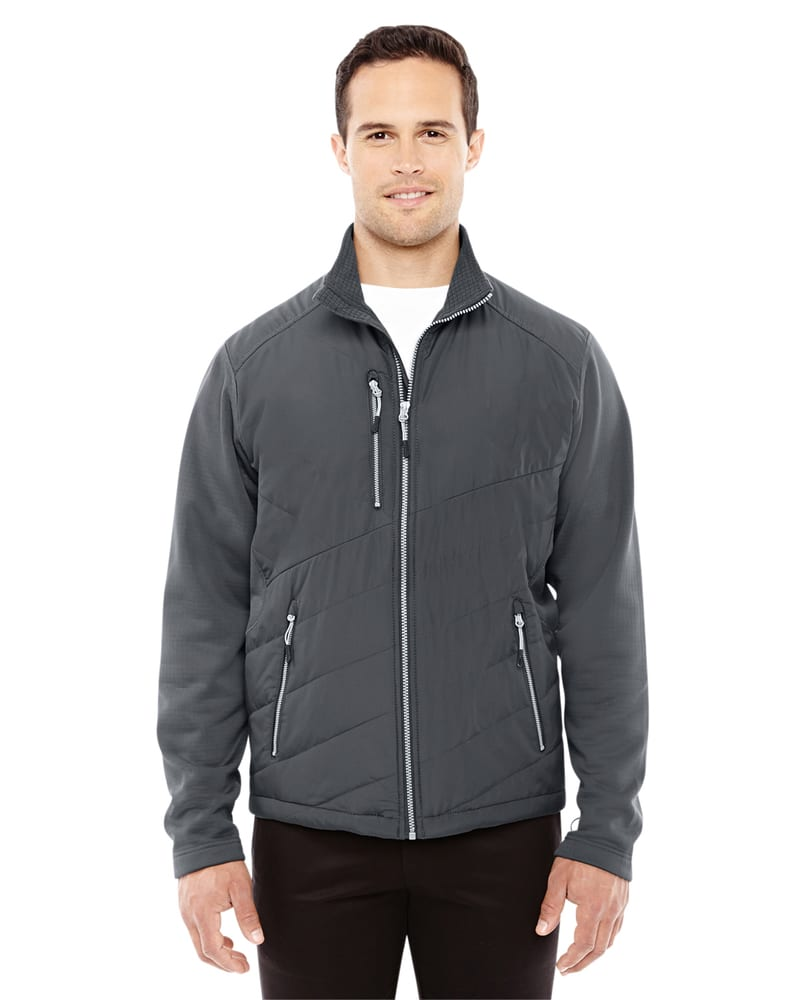 Ash City North End Sport Red 88809 - Men's Quantum Interactive Hybrid Insulated Jacket