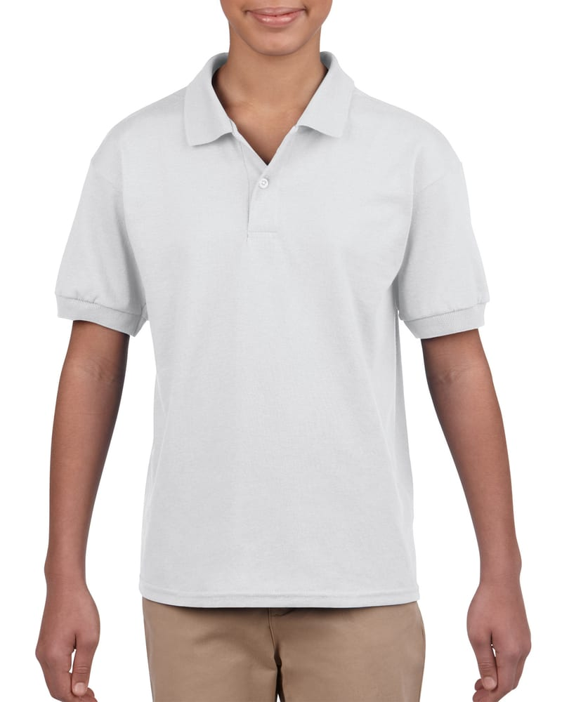 Gildan G880B - DryBlend® Youth 5.6 oz., 50/50 Jersey Polo