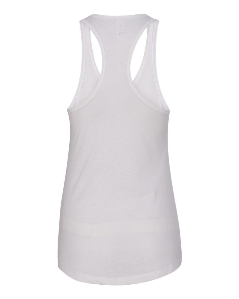 Image result for Next level 1533 WOMEN'S IDEAL RACERBACK TANK white back