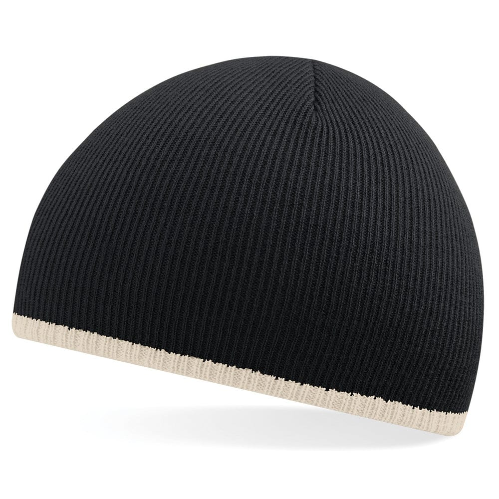 BEECHFIELD BF44C - Two-Tone Beanie Knitted Hat