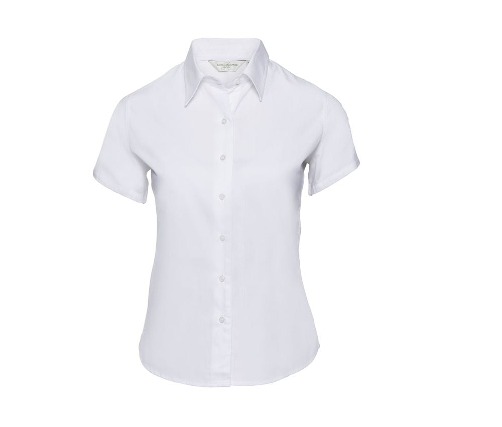 Russell Collection JZ17F - Short Sleeve Classic Twill Shirt