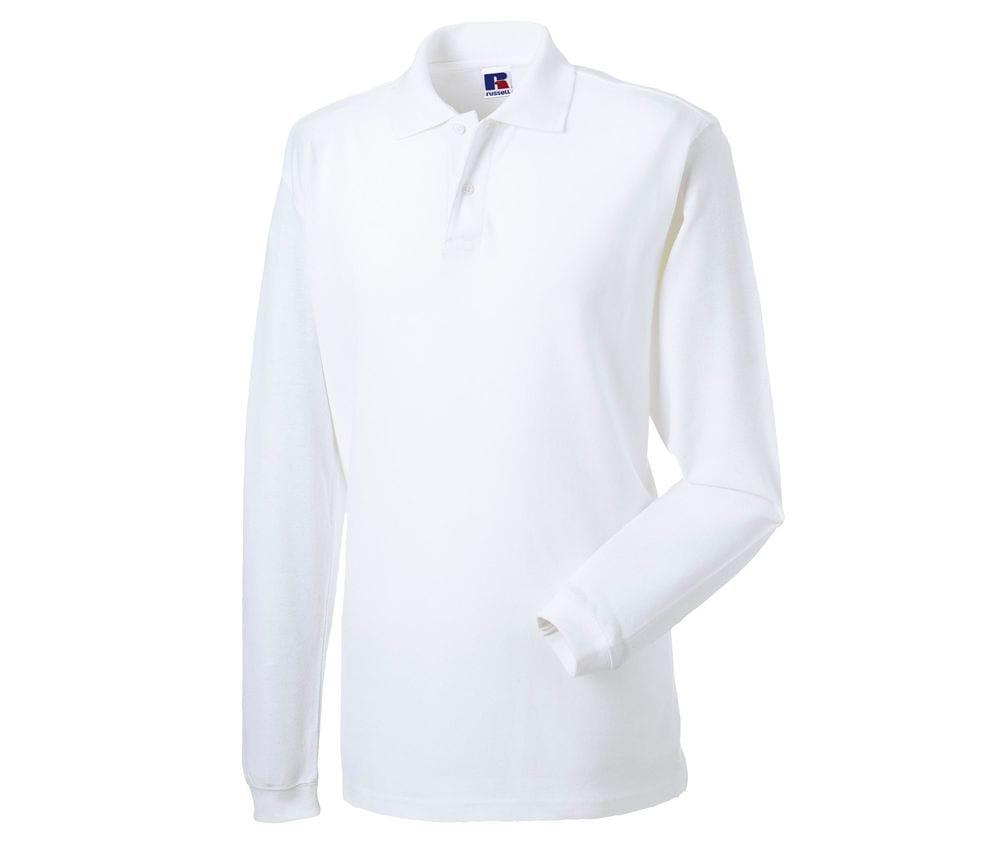 Russell JZ69L - Classic Cotton Polo Long Sleeve