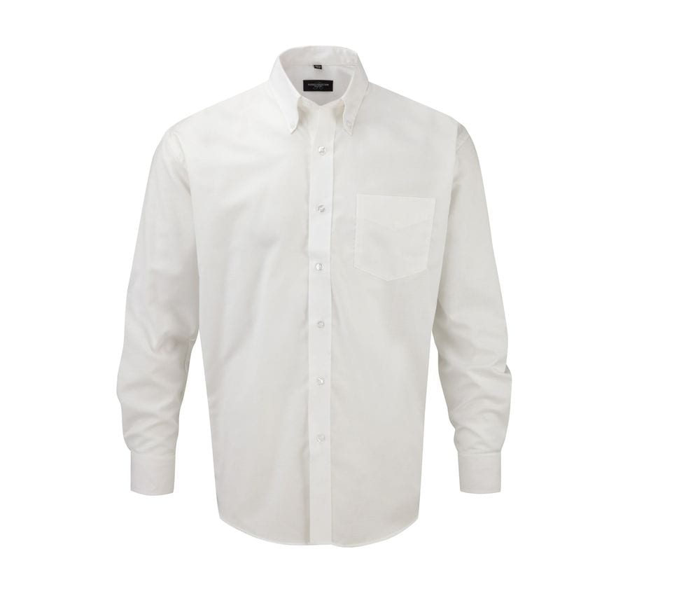 Russell Collection JZ932 - Men's Long Sleeve Easy Care Oxford Shirt