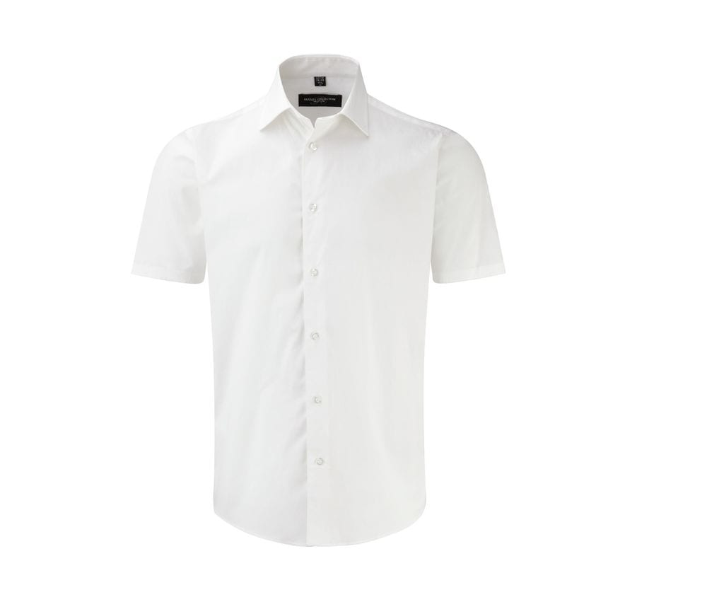 Russell Collection JZ947 - Men's Short Sleeve Fitted Shirt