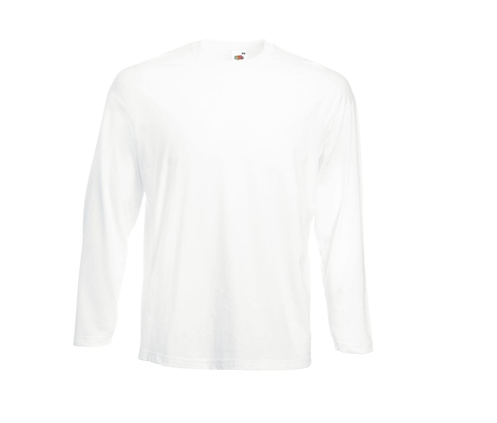Fruit of the Loom SC233 - Valueweight Long Sleeve T (61-038-0)