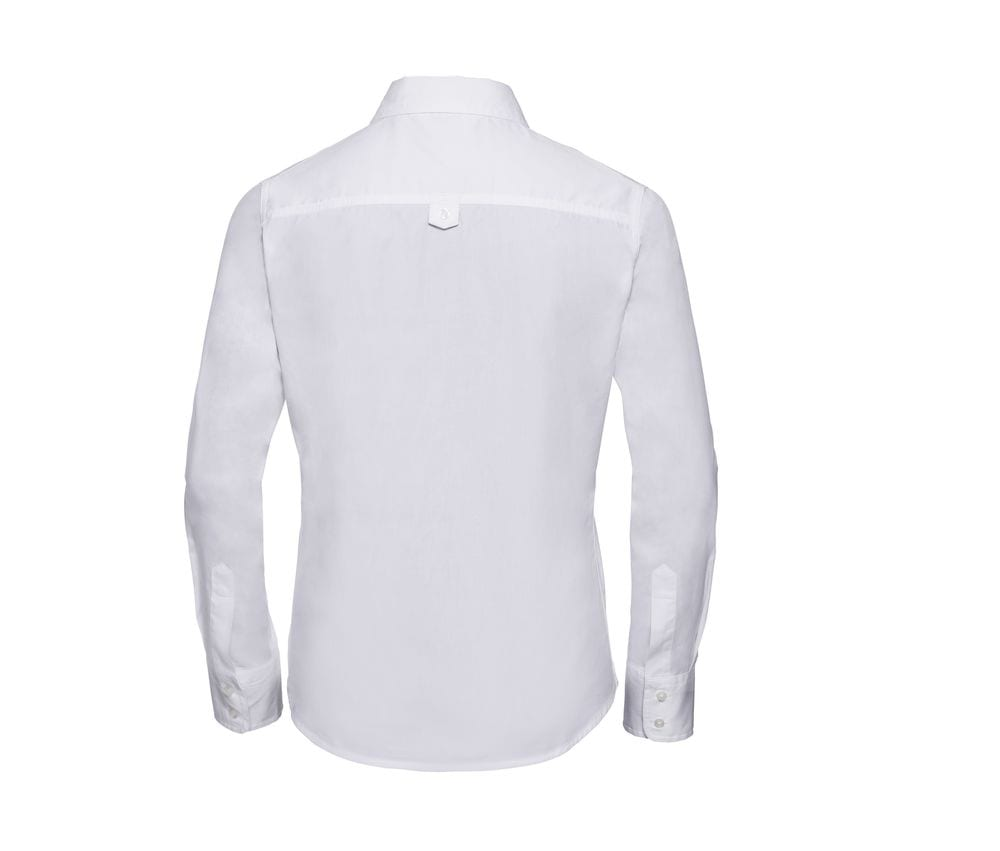 Russell Collection JZ16F - Ladies' Long Sleeve Classic Twill Shirt