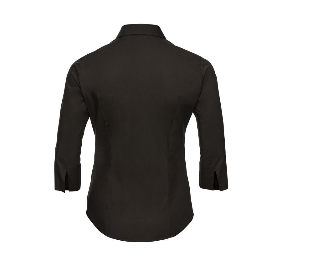 Russell Collection JZ46F - Ladies' 3/4 Sleeve Fitted Shirt