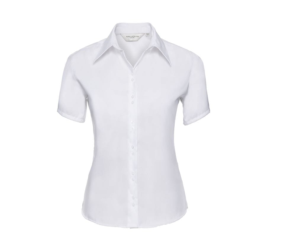 Russell Collection JZ57F - Ladies' Short Sleeve Ultimate Non-Iron Shirt