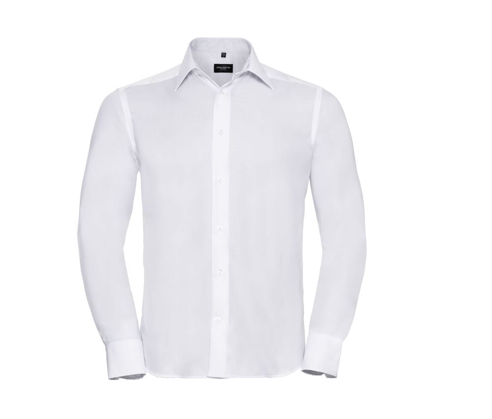 Russell Collection JZ958 - Men's Long Sleeve Tailored Ultimate Non Iron Shirt