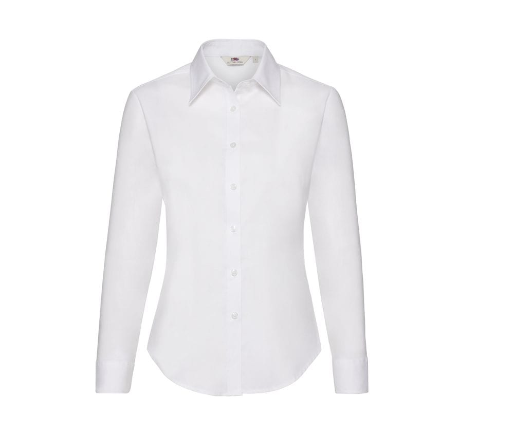 Fruit of the Loom SC401 - Lady Fit Oxford Shirt Long Sleeves
