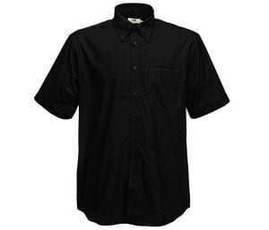 Fruit of the Loom SC405 - Camisa Oxford Manga Curta (62-112-0)