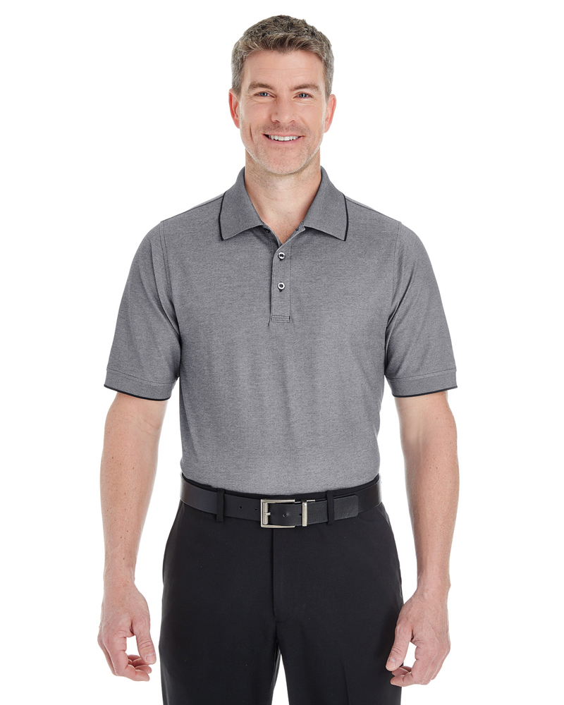 Devon & Jones DG220 - Men's Pima-Tech™ Oxford Piqué Polo