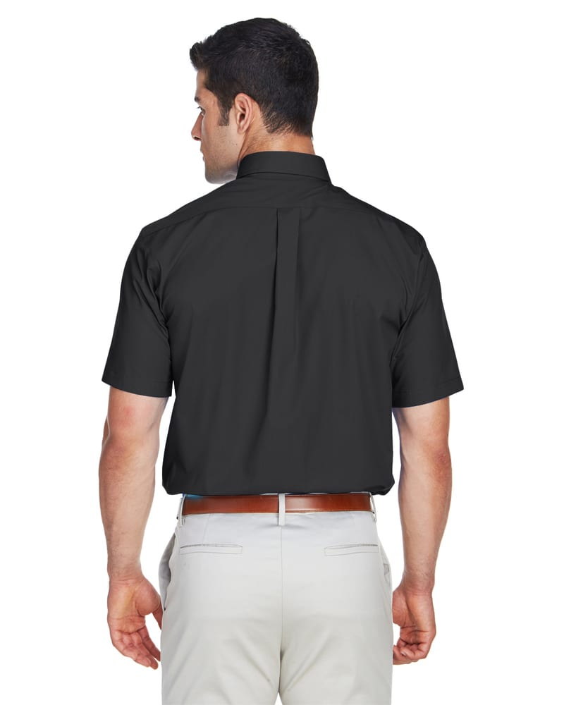 Devon & Jones D620S - Men's Crown Collection™ Solid Broadcloth Short Sleeve Shirt