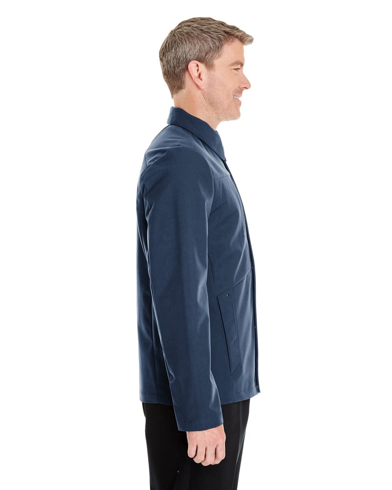 Ash City North End NE705 - Men's Edge Soft Shell Jacket with Fold-Down Collar