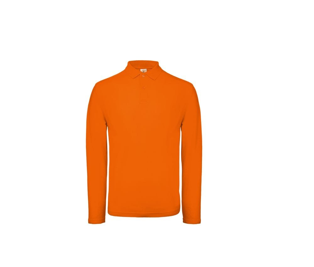 B&C ID1LS - Polo manches longues homme
