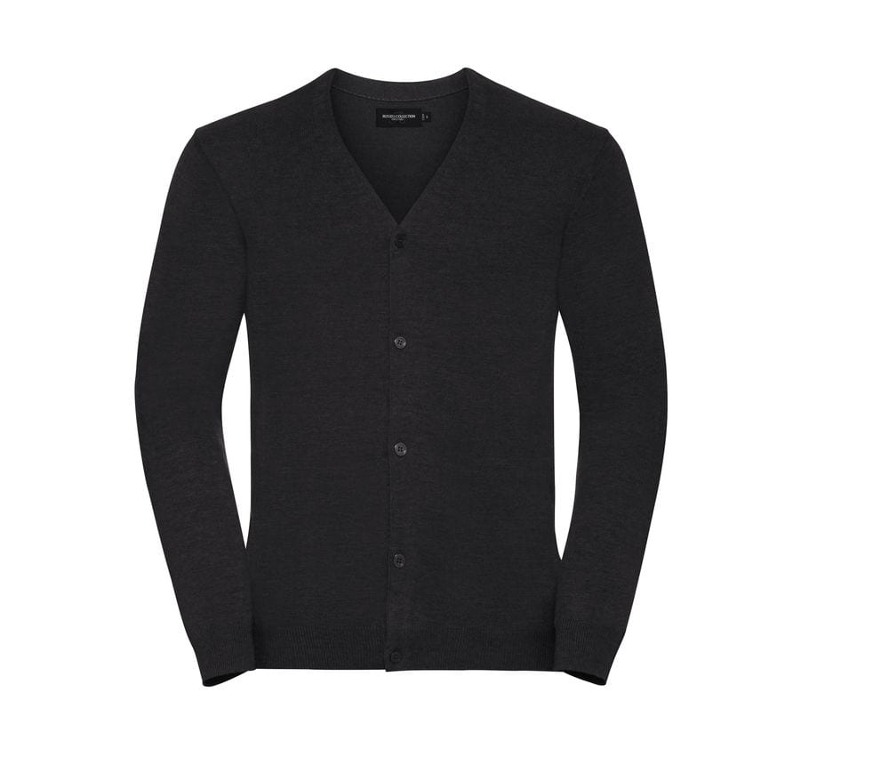 RUSSELL JZ71M - Cardigan homme col V