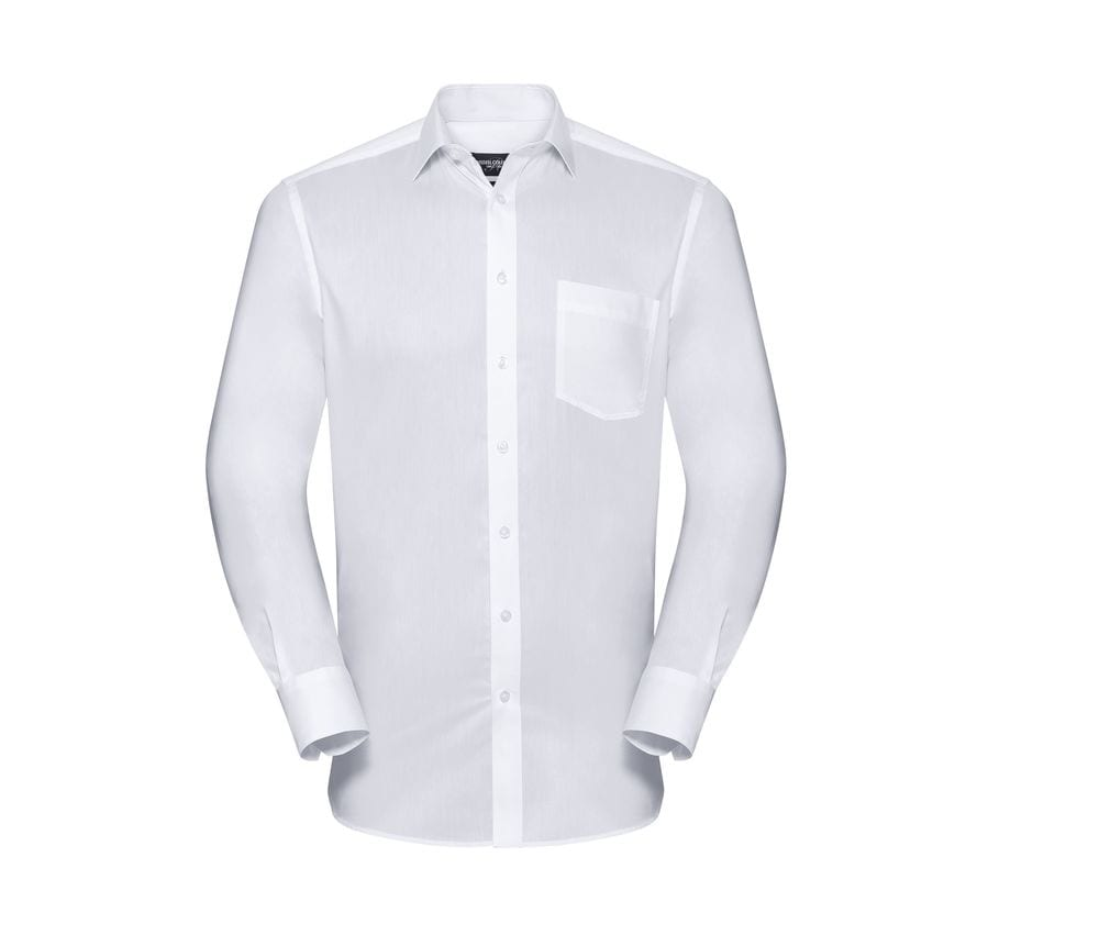 RUSSELL COLLECTION RU972M - MEN'S LONG SLEEVE TAILORED COOLMAX® SHIRT