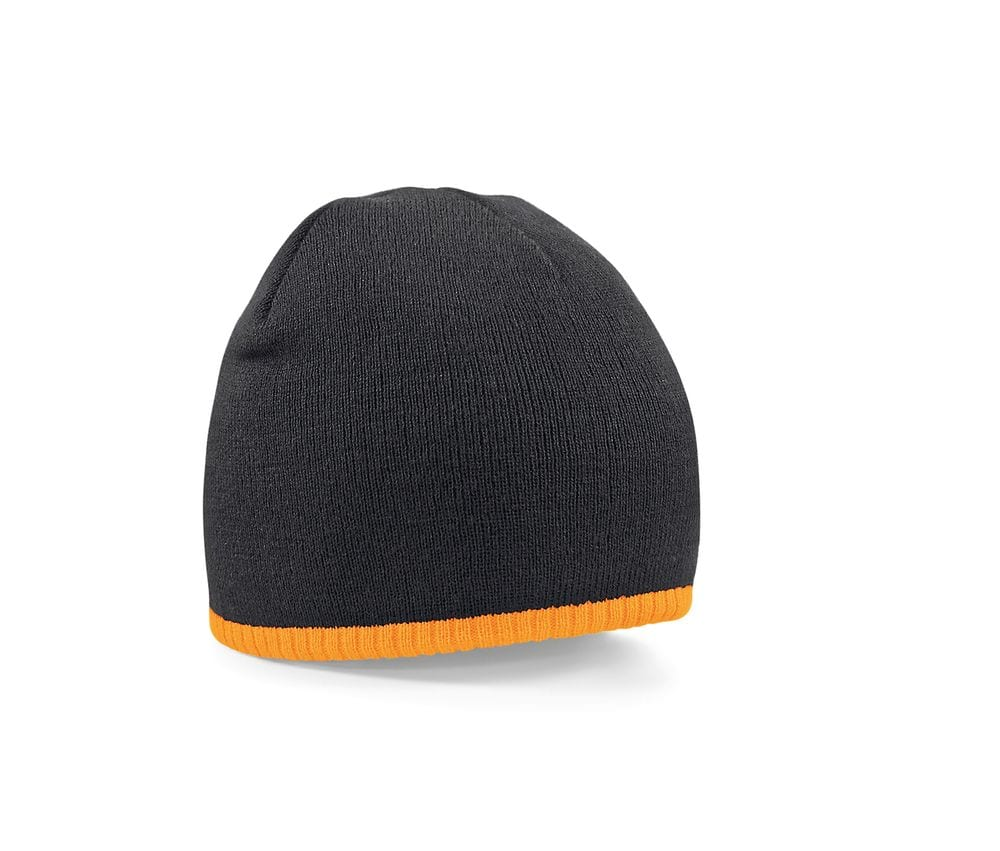 BEECHFIELD BF44C - Gorro - Two-Tone Knitted Hat