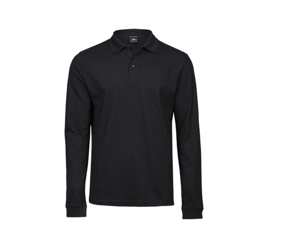 TEE JAYS TJ1406 - Polo stretch manches longues homme