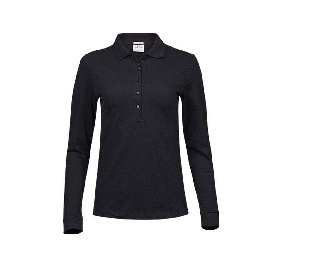 TEE JAYS TJ146 - Polo stretch manches longues femme