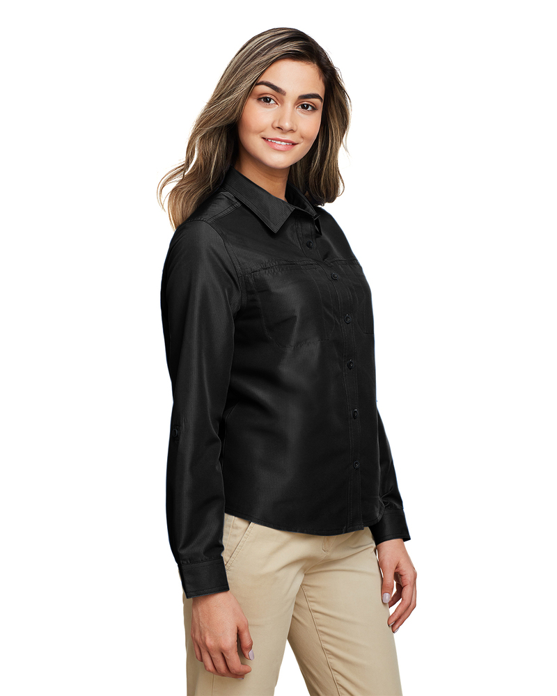 Harriton M580LW - Ladies Key West Long-Sleeve Performance Staff Shirt