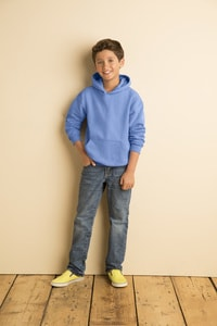 Gildan 18500B - YOUTH HOODED SWEATSHIRT 8 oz.