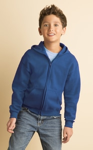 Gildan 18600B - Heavy Blend Youth Full Zip Hooded Sweatshirt