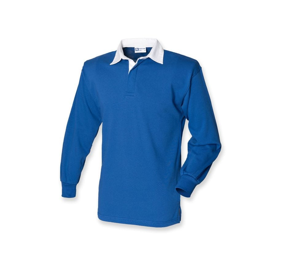 Front Row FR100 - Front Row FR100 - LONG SLEEVE PLAIN RUGBY SHIRT