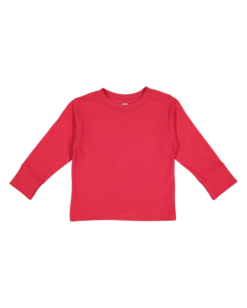 Rabbit Skins 3311 - Toddler 5.5 oz. Jersey Long-Sleeve T-Shirt