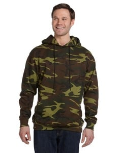 Code Five 3969 - Camouflage Pullover Hooded Sweatshirt