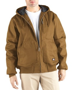 Dickies TJ718 - 10 oz. Rigid Duck Hooded Jacket