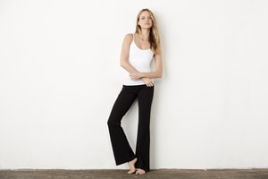 BELLA+CANVAS B810 - Womens Cotton Spandex Fitness Pant
