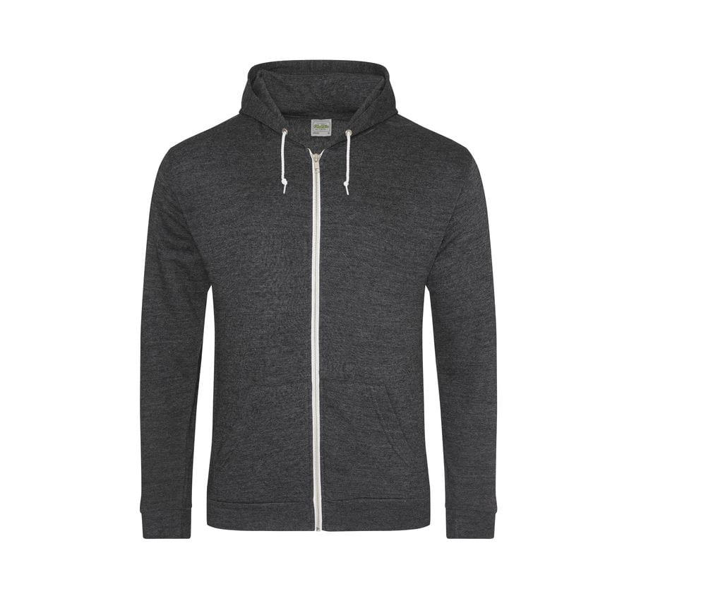 AWDis Hoods JH058 - Sweat-shirt zippé Heather