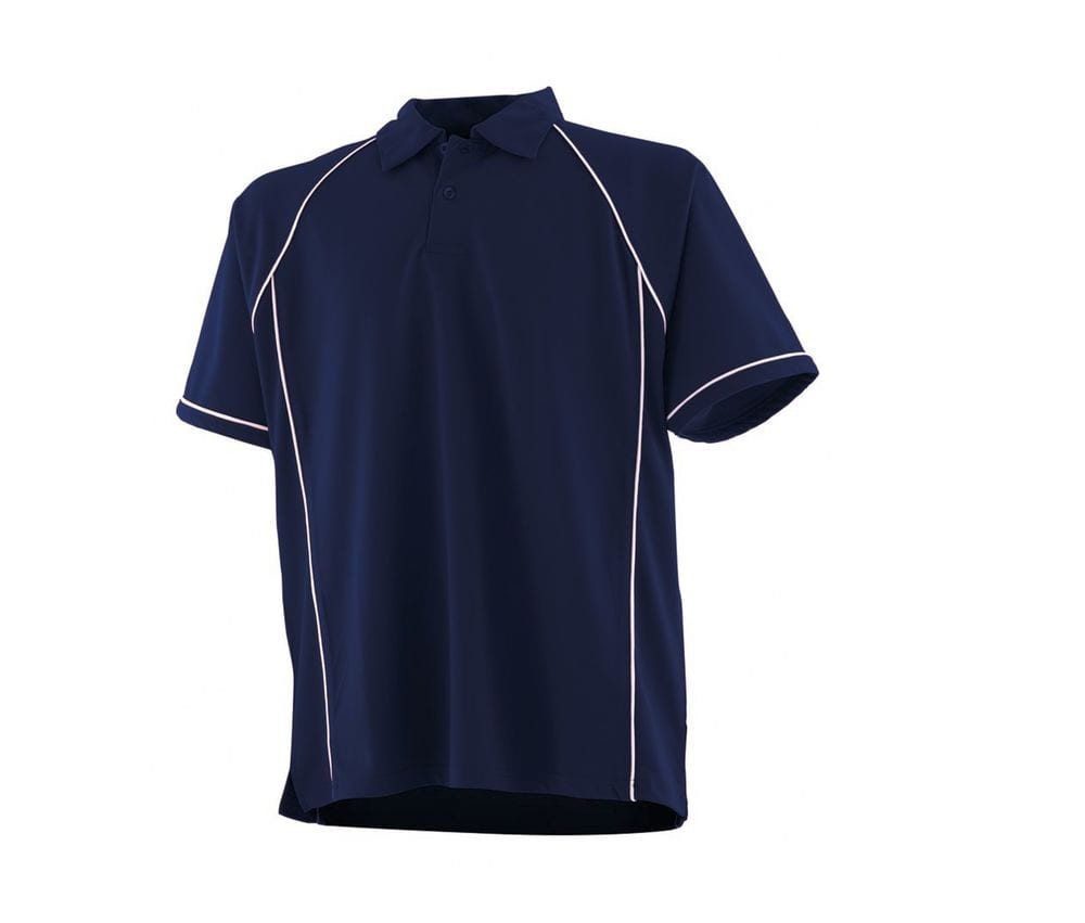 Finden & Hales LV370 - Performance Piped Polo Shirt