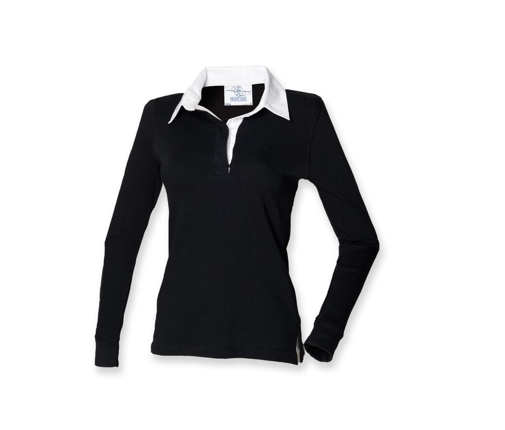 Front Row FR101 - Women's long sleeve plain rugby shirt