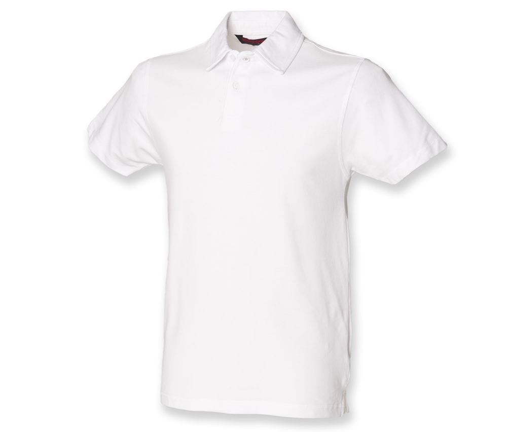 SF Men SFM42 - Polo stretch de mangas cortas