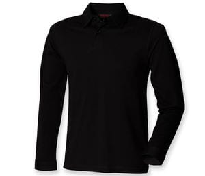 SF Men SFM44 - Polo stretch de mangas largas
