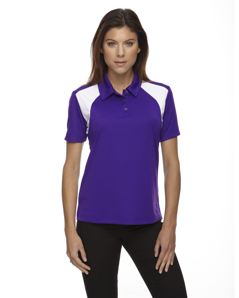 Ash City Extreme 75066 - Ladies' Eperformance™ Color-Block Textured Polo