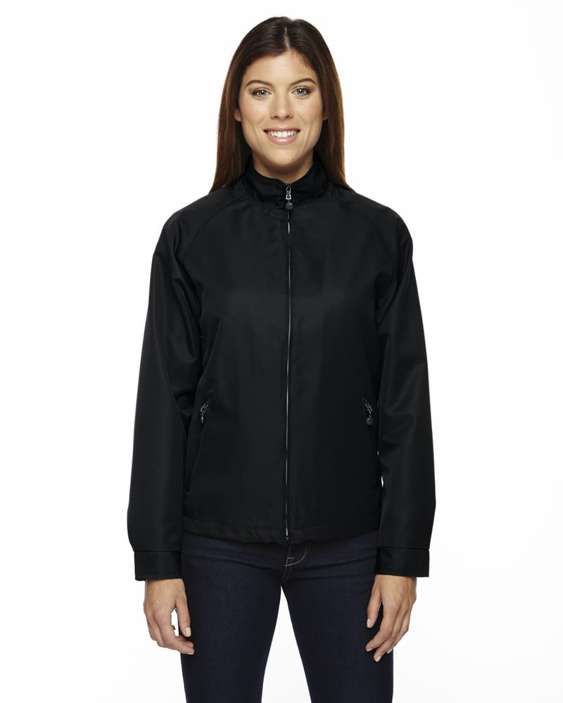 Ash City North End 78044 - Ladies' Micro Twill Hip Length Jacket
