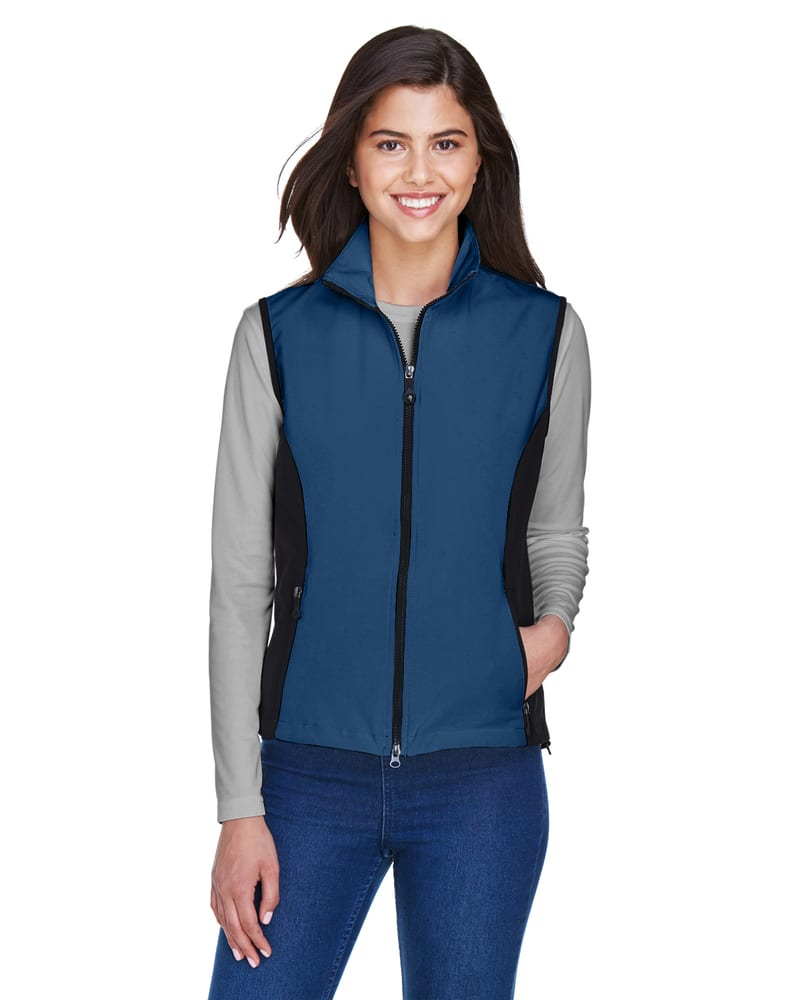 Ash City North End 78050 - Ladies' Soft Shell Performance Vest